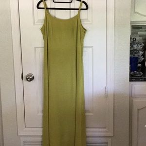 Moda International olive green long dress